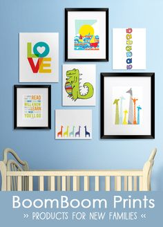 Awesome site that offers products for new families designed by independent artists- love their nautical nursery prints too!