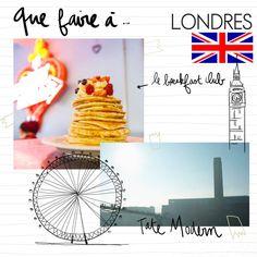 Que faire à #Londres : notre guide de bonnes adresses pour tout ce qu'il faut faire à Londres - Elle #Voyage #Évasion
