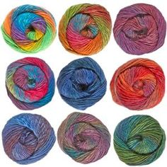 lammy Yarns, artikel Rainbow najaar en winter 2015 - Lammy Yarns