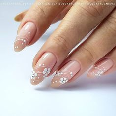 Rounded Acrylic Nails, Classy Acrylic Nails, Short Square Acrylic Nails, Acrylic Nails Coffin Short, Almond Acrylic Nails, Summer Acrylic Nails, Classy Nails, Summer Nails, Classy Nail Designs