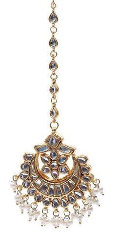 Indian Bridal Jewellery Kundan Maang Tikka £20
