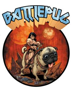 In this week's comics, it's Battlepugs