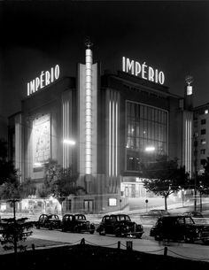 Teatro Imperio in Lisbon, Portugal, designed by Cassiano Branco, 1930′s