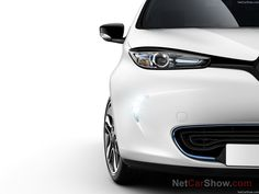 Renault ZOE (2013) [blue brightwork]