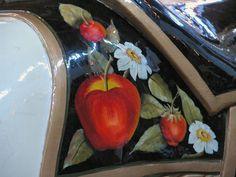 Shelby City Park Carrousel Spillman Engineering 3rd Row Jumper - Paint Detail