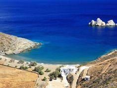 Agios Georgios Beach, Sikinos #mysteriousgreece