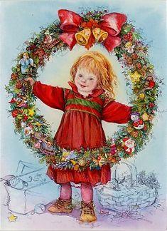 christmasillustr.quenalbertini: Lisi Martin Art