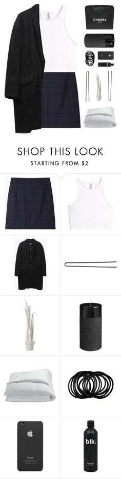 """Up 4 Grabs!"" by xxpai ❤ liked on Polyvore featuring Jacquemus, H&M, Isabel Marant, Chanel, Hershesons, Wandschappen, Pier 1 Imports, Frette and Incase"