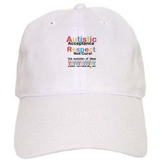 Autistic Acceptance #Baseball #Cap #Autism #ASD #Aspergers #Neurodiversity #AutisticAcceptance