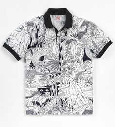 Micah Lidberg x Lacoste L!VE Animal Illustration Collection: Having gotten a peek at the collaboration between illustrator Micah Lidberg and Lacsote L!VE last Ss15 Trends, Aloha Shirt, T Shirt, Fashion Maker, Lacoste Polo, Textiles, Collection Capsule, Piece Of Clothing, Urban Fashion