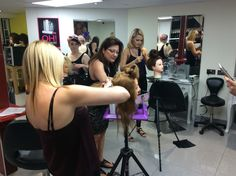 Hairup styling training with all the team. www.experienceeducation.academy