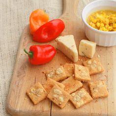 Pepper Jack Cornbread Cracker recipe