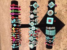 Accents with Attitude Made by Ruth Stiver Cross Love, Secret Boards, Jewelry Ideas, Attitude, Beaded Bracelets, Gift Ideas, Crafts, Manualidades, Pearl Bracelets