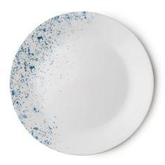 Corelle® Vive® Indigo Speckle Plate - Shop World Kitchen Appetizer Plates, Dinner Plates, Corelle Plates, Tableware, Corelle Dinner Set, Blue Dinnerware, Porcelain Mugs, Stoneware Mugs, Blue Plates