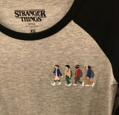 Stranger Things Baseball T Grunge Tattoo, Stranger Things Netflix, Stranger Things Clothing, Stranger Things T Shirt, Mode Inspiration, Fangirl, Ideias Fashion, Cute Outfits, Good Things