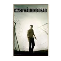 The Walking Dead Prison Wall Wood Wall Sign