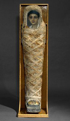 Mummy, Hawara, 100-120, Roman.