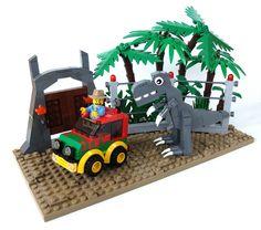 Chibi Jurassic Park