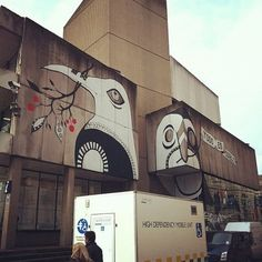 streetart in birmingham, graffiti