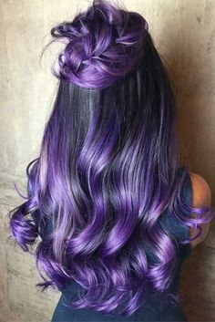 27 Best Dark Ombre Hair Ideas - Make up & Haare - couleur de cheveux Dark Ombre Hair, Ombre Hair Color For Brunettes, Brunette Color, Brunette Hair, Hair Ideas For Brunettes, Blonde Hair, Bright Hair Colors, Hair Color Purple, Cool Hair Color