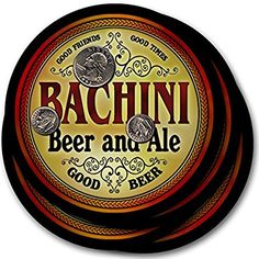 Bachini Beer & Ale - 4 pack Drink Coasters