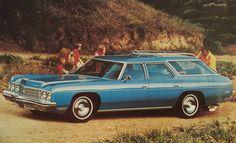 1973 Chevrolet Impala Station Wagon