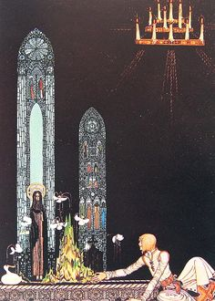 Image detail for -Kay Nielsen Fairy Tale Illustration - 1975 - The Giant Who Had No ...