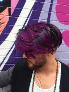 Fantasy Colors FOR HIM! | Modern Salon