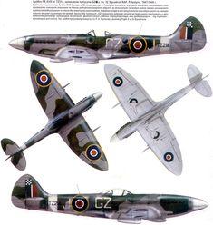 "Spitfire XVIII ""A"" Flight, 32 Sqn, RAF"