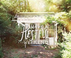 Restful Weekend  |  The Fresh Exchange