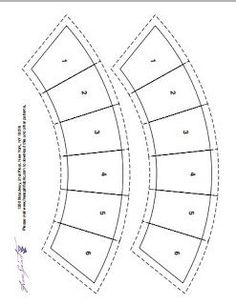 Wedding Ring Quilt Pattern free         create 40 copies   Template bows for getting 80 bows.   If you using each of 13 cloth for bows   Si...