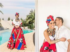 Shweshwe Dresses South Africa Styles For Woman - Pretty 4 Zulu Traditional Wedding Dresses, Zulu Traditional Attire, South African Traditional Dresses, Wedding Dresses South Africa, African Wedding Attire, South African Weddings, Zulu Wedding, Black Tie Attire, Shweshwe Dresses
