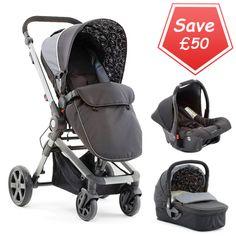 Buy Baby Elegance Beep Twist Travel System Grey At Argos