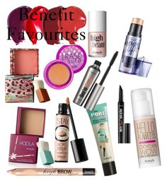 """""""Benefit"""" by stoveyyy on Polyvore featuring beauty and Benefit"""