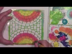 Paint and a stencil FUNdamental tutorial - YouTube Stencils by StencilGirl