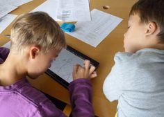 Heel cool: kinderen animeren gedichten op de iPad (app ShowMe