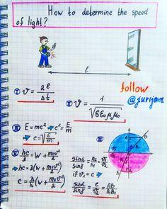 How to #determine the #speed of #light #Illustration by #Physics #Teacher #Yuri #Kovalenok #jurij0001
