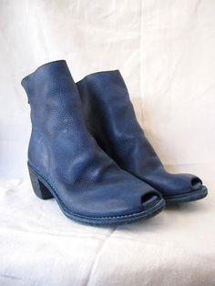 Guidi Peep Toe Boot