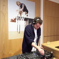 Opening party of the A.P.C. rue Antoine Dansaert store in Brussels. DJ set by Metronomy. @metronomy #apc by apc_paris