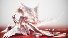 Stolen Wings by yuumei.deviantart.com on @DeviantArt