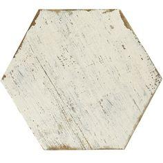 "Rama 14.13"" x 16.25"" Porcelain Field Tile in White"