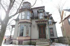 Type:1877 Victorian. Location: Saratoga Springs, New York. Price: $479,000