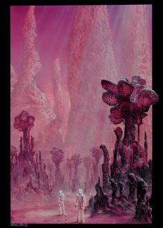 In the land of alien gods by ahaas.deviantart.com on @DeviantArt