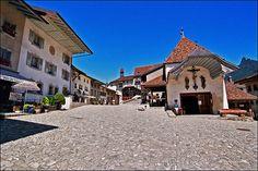 church in gruyeres   Flickr: Intercambio de fotos