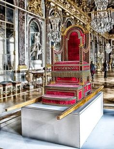 Versailles. I totally have one of these at my house for the family to carry me around on. Love it! ;)