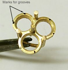 Jewelry Making Tutorial - Making Tennis Bracelet Collets