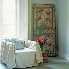 I have acutally thought about doing something like this with an old door I have laying around....in my opinion, anything goes!