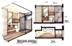 Can't forget about the bathroom | Bathroom layout