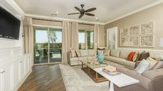 Wow! What a beautiful #livingroom in The Albany Model!