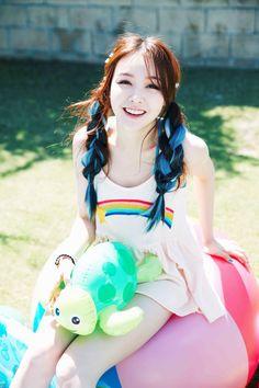 Name: Minah Bang Member of: Girl's Day Birthdate: 13.05.1993